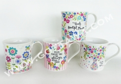 11oz new bone china mug, bulk packing