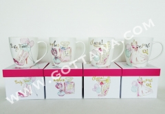 15oz new bone china mug with gift box
