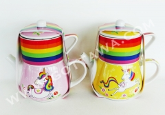 teapot with color sleeve