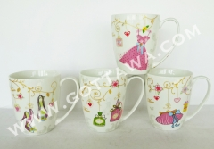 13oz new bone china mug, bulk packing