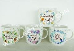 10oz new bone china mug, bulk packing
